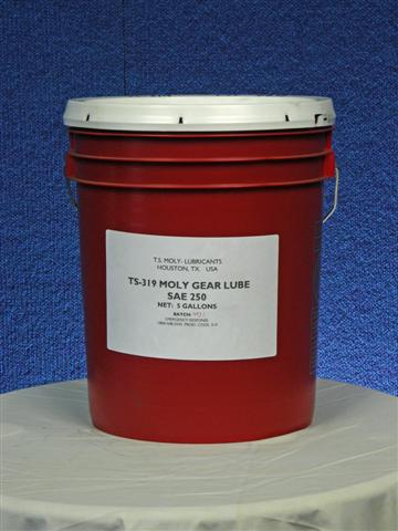 TS-319 Moly Gear Lube SAE 250 (ISO 1000)