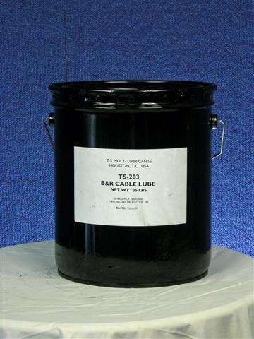 TS-203 B & R Cable Lube