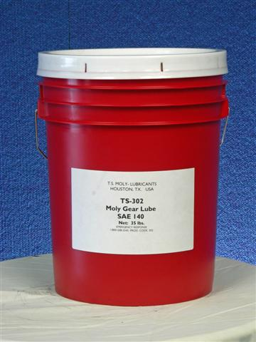 TS-302 Moly Gear Lube SAE 140 ISO 460