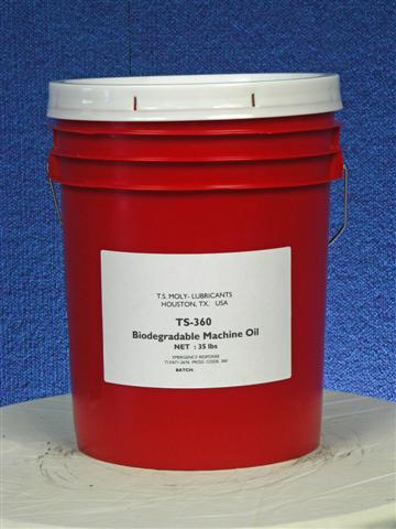 TS-360 Biodegradable Oil With Moly