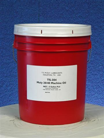 TS-304 Moly SAE 20w40 Machine Oil