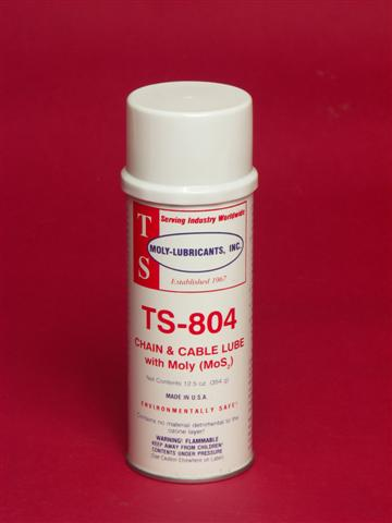 TS-804 Chain & Cable Lube with Moly