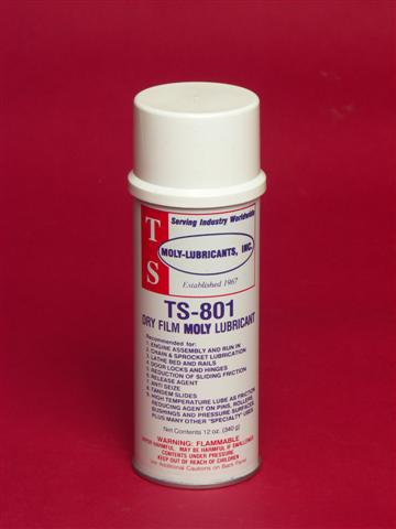 TS-801 Dry Film Moly Spray